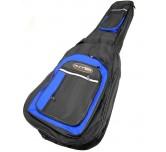 Custodia borsa chitarra classica (corde in nylon) Runner imbottita 5 mm blu