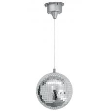 Kit sfera  palla specchio  20 cm illuminata dall'interno e dall'esterno  + motore  Eurolite