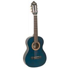 Chitarra  classica Valencia mogano blu trasparente  VC204