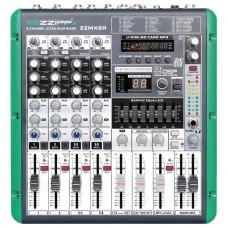 Mixer 6 canali con lettore mp3  e recording ZZiPP ZZMX6R