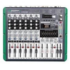 Mixer 8 canali con lettore mp3  e recording ZZiPP ZZMX8R